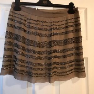 GORGEOUS silk and Payette skirt